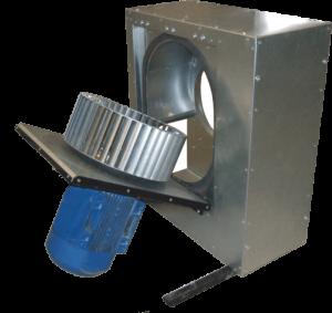 Кухонные вентиляторы KF GS 200 0,37 кВт 4E