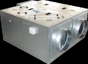 Приточно-вытяжные установки Compact-UNI-400-HE2.4